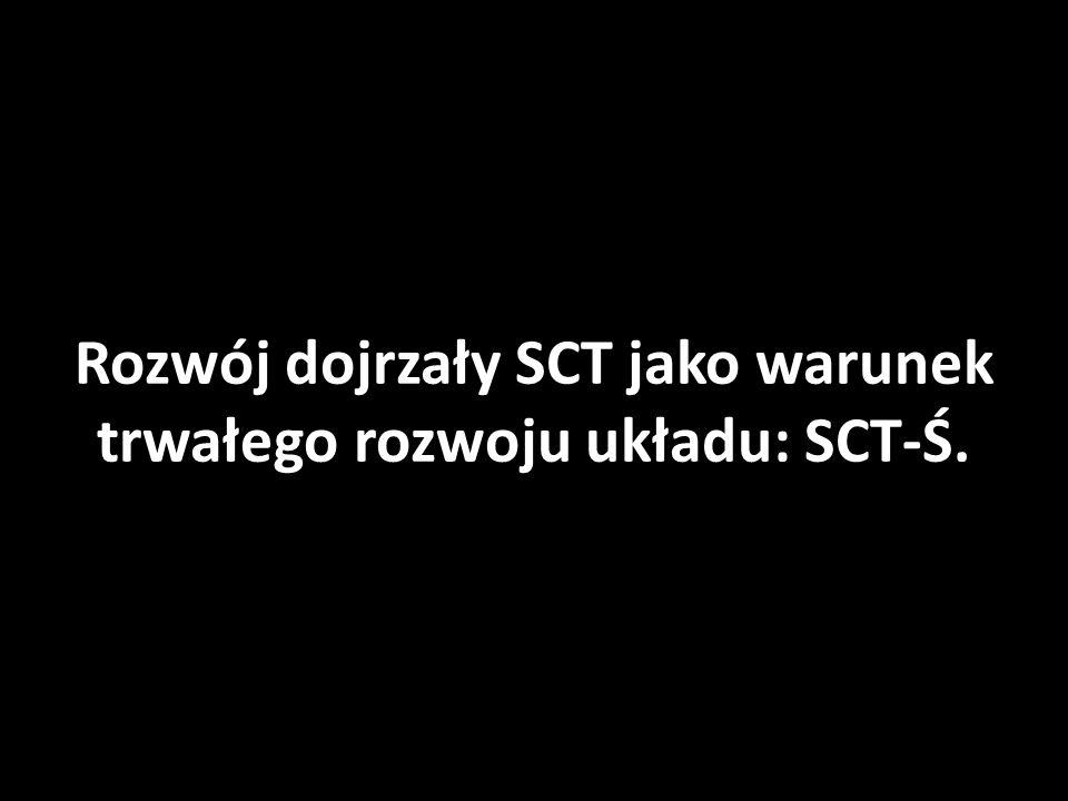 Rozwój dojrzały SCT jako warunek trwałego rozwoju układu: SCT-Ś.