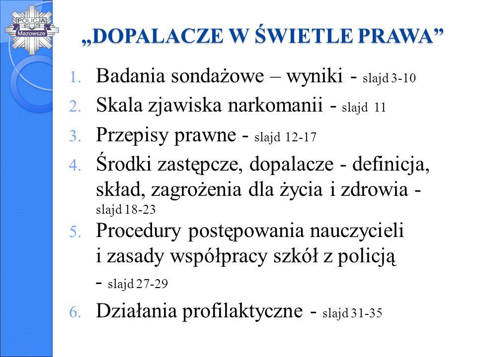 """""""Dziecko bezpieczne w rodzinie i w szkole 26 marca - 29 maja 2014 r."""