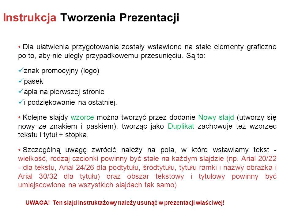Warszawa DD.MM.RRRR r.Tytuł prawidłowy (wielkość np.