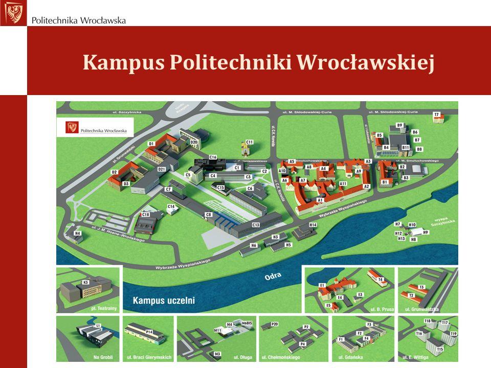 Zapisy do Bibliotek PWr GDZIE Wypożyczalnia Główna Biblioteki Klasycznej bud.