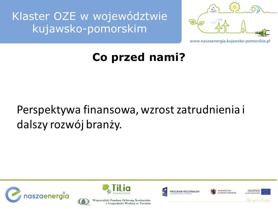Klaster OZE w województwie kujawsko-pomorskim Dziękuję za uwagę.