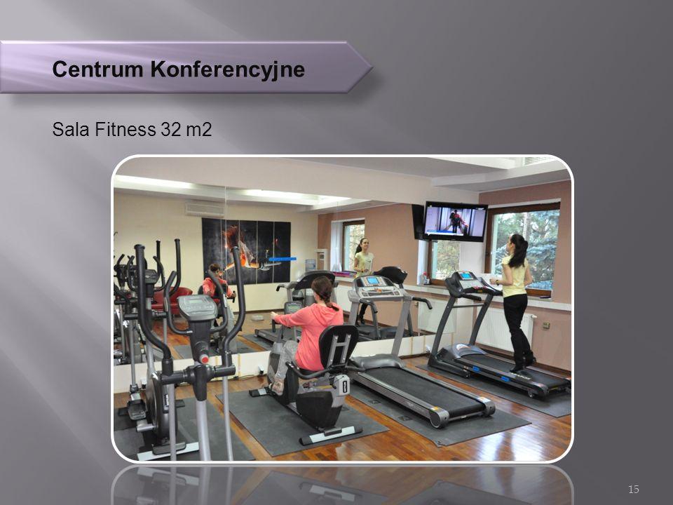 Centrum Konferencyjne Sala Fitness 32 m2 15
