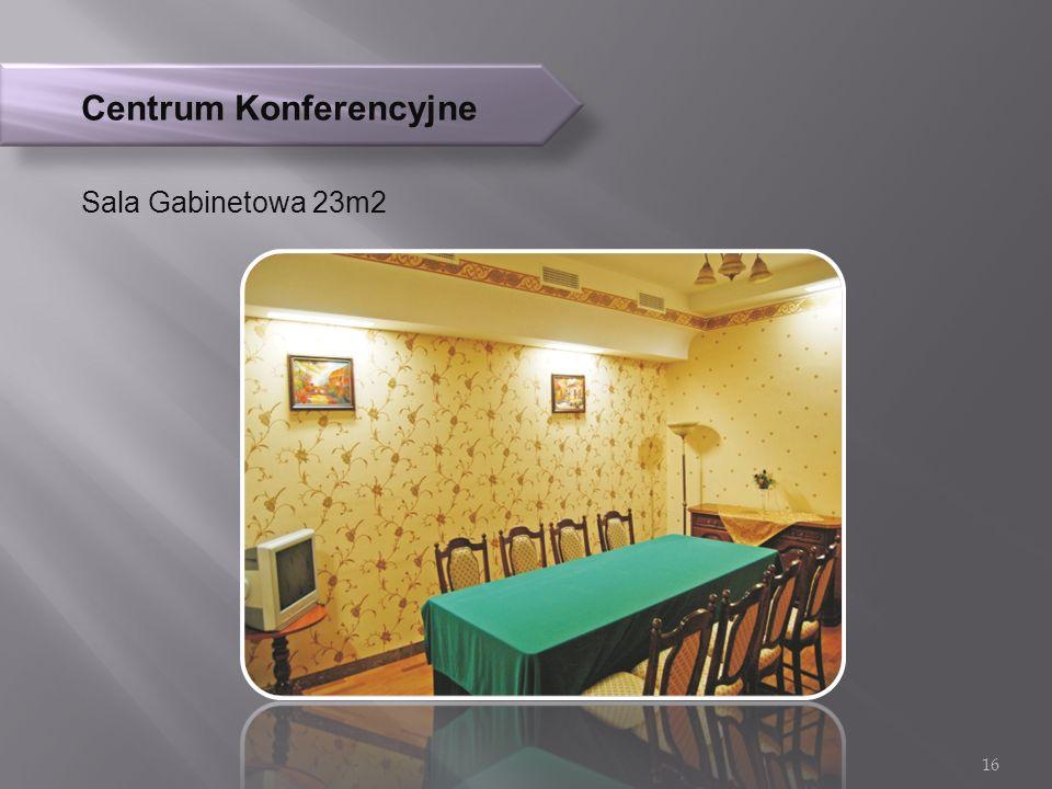 Centrum Konferencyjne Sala Gabinetowa 23m2 16
