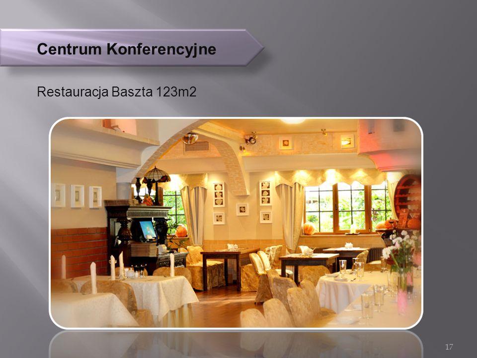 Centrum Konferencyjne Restauracja Baszta 123m2 17