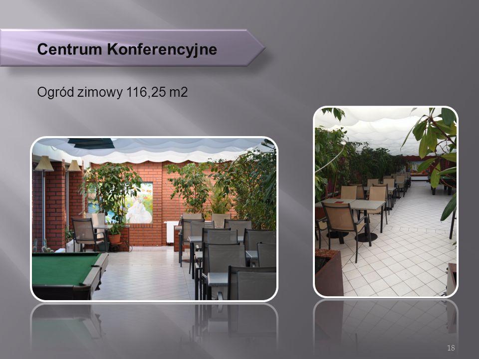 Centrum Konferencyjne Ogród zimowy 116,25 m2 18