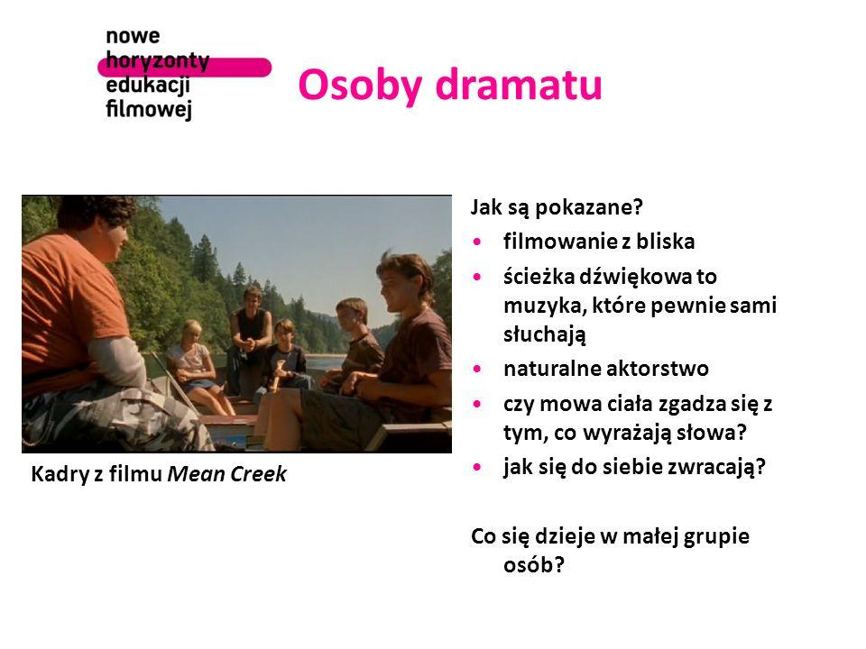 Osoby dramatu Jak są pokazane.
