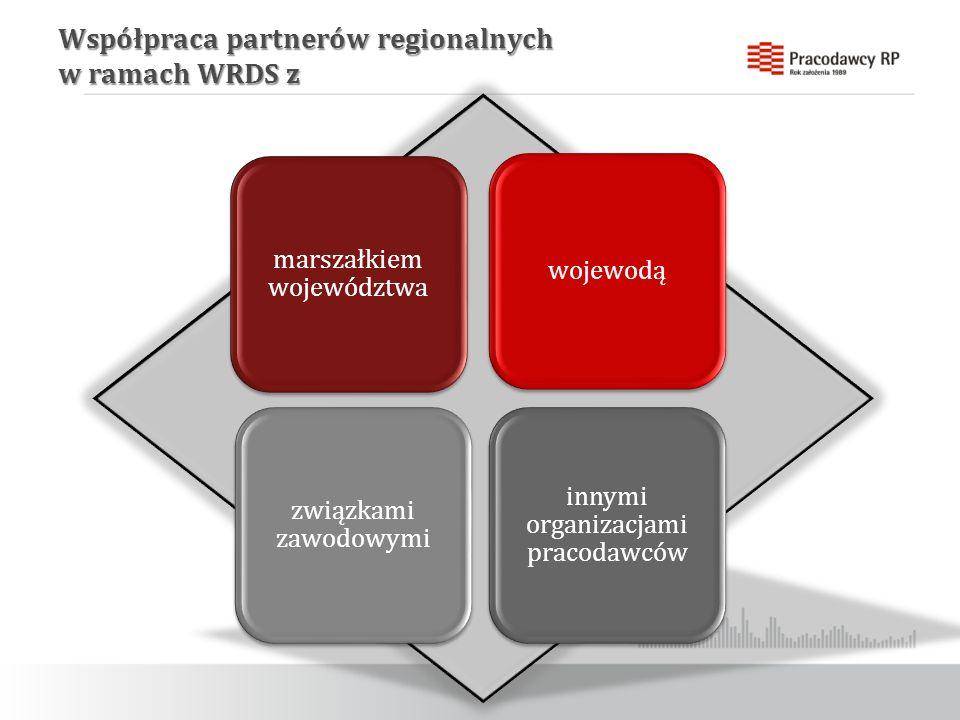 Współpraca partnerów regionalnych w ramach WRDS z