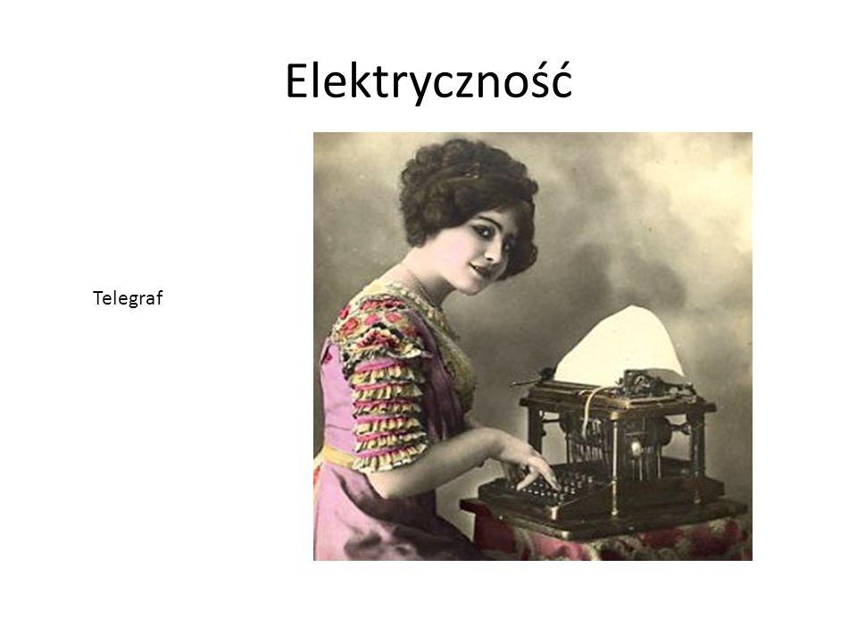 Elektryczność Telegraf