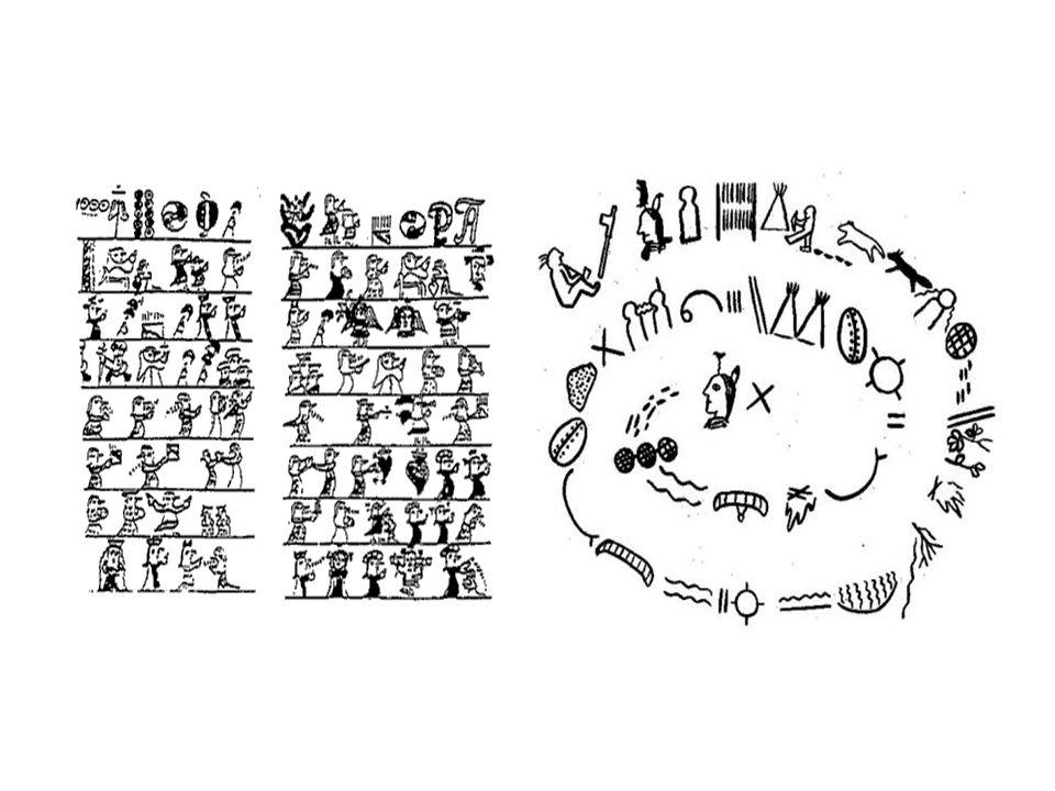 Pisma fonetyczne – sylabiczne – 3300 p.n.e.