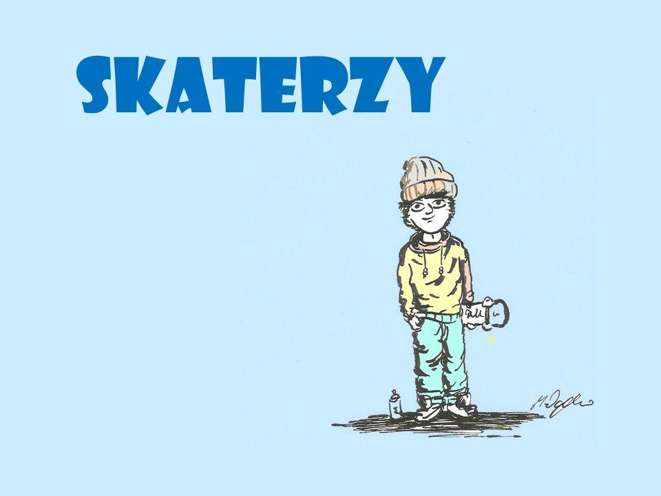 Skaterzy to subkultura wywodząca się z Kalifornii.