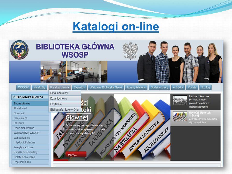 Katalogi on-line