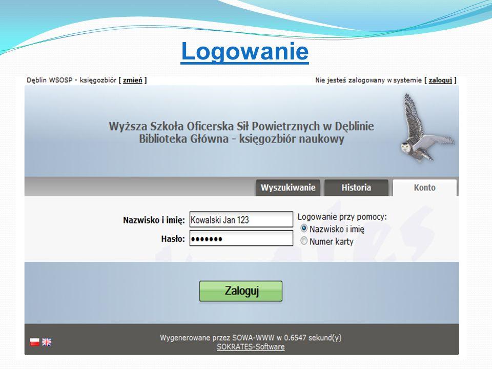Katalog on-line Jeśli książka jest wypożyczona zamów i ustaw się w kolejce Zarezerwuj jeśli egzemplarz jest dostępny Spisz sygnaturę jeśli nie ma opcji rezerwacji on-line Spisz sygnaturę jeśli nie ma opcji rezerwacji on-line