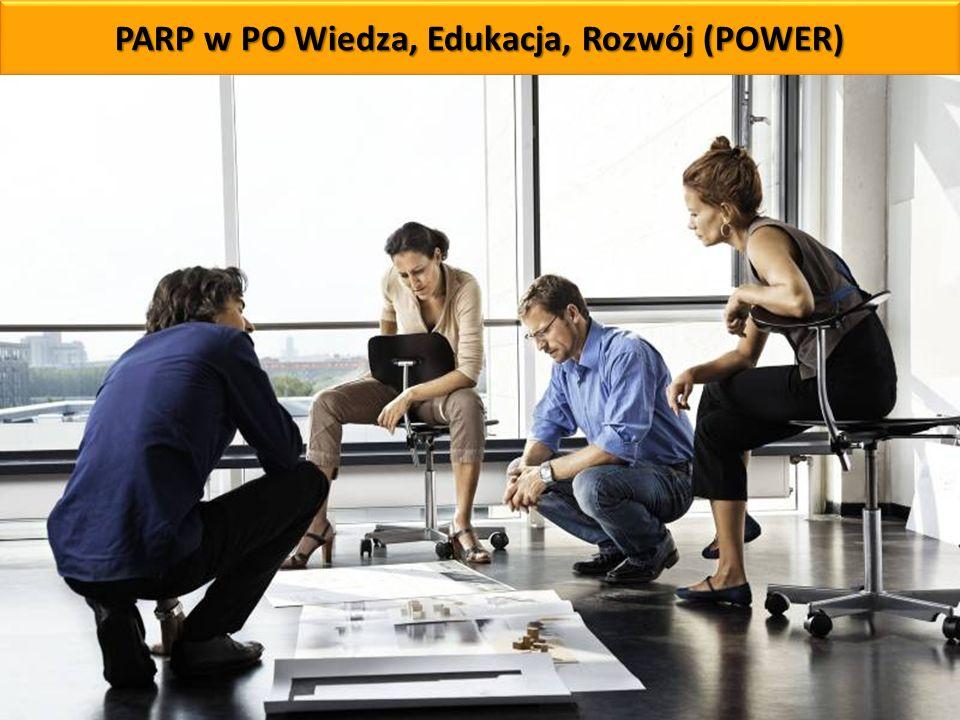 PARP w PO Wiedza, Edukacja, Rozwój (POWER)