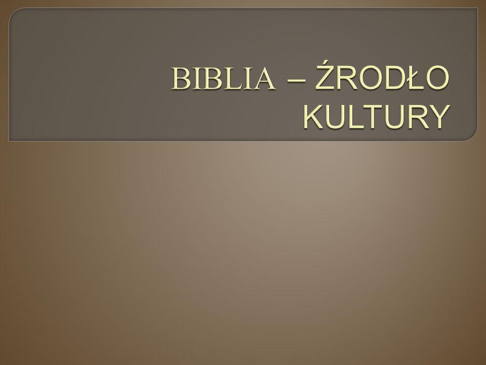 """Współczesna Kultura Europejska BIBLIA ANTYK KULTURY POSZCZEGÓLNYCH NARODÓW KULTURA """"GLOBALNA GŁÓWNIE AMERYKAŃSKA"""