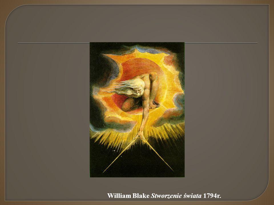 William Blake Stworzenie świata 1794r.