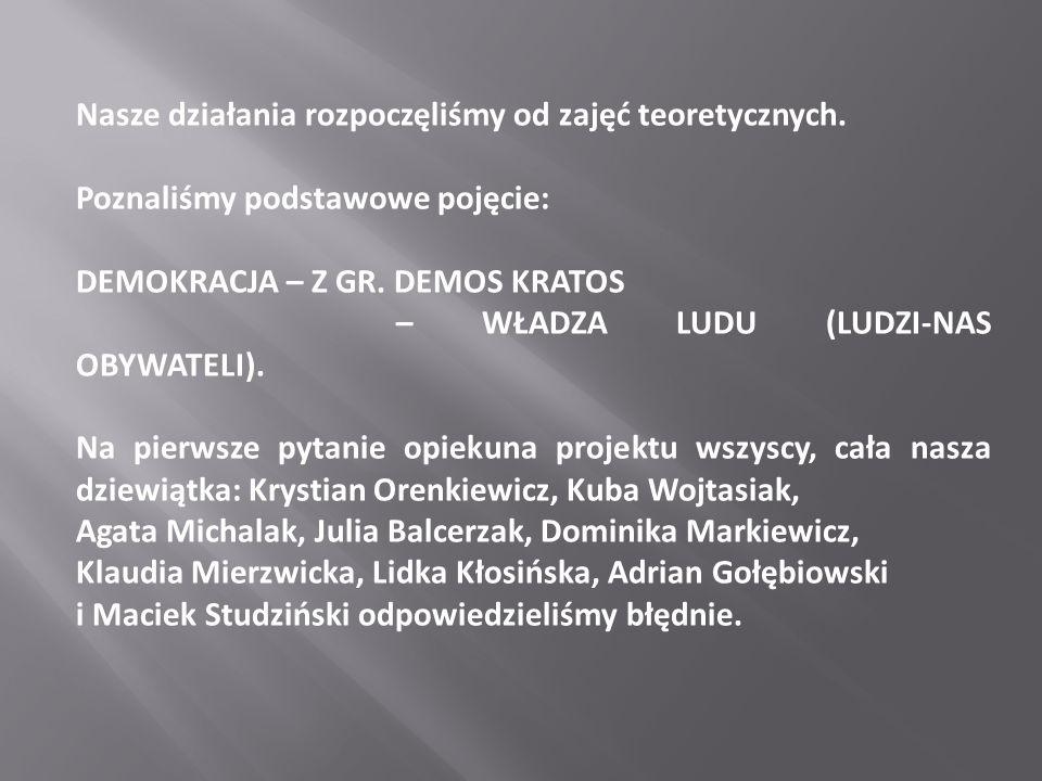 """Wykład zatytułowany został: """"Strażnik żyrandola.- Spory o prezydenturę w Polsce ."""