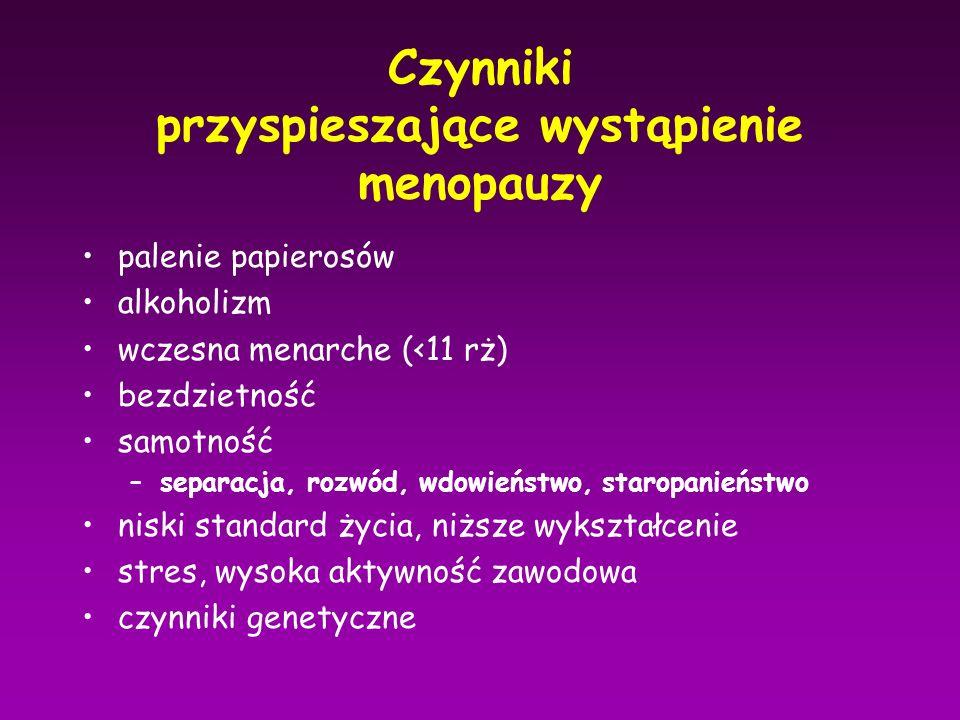 ESTROGENY w HTZ objawy niepożądane mastalgia/mastodynia nudności wzdęcia obrzęki bóle głowy bóle nóg
