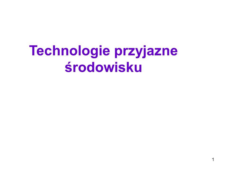 1 Technologie przyjazne środowisku