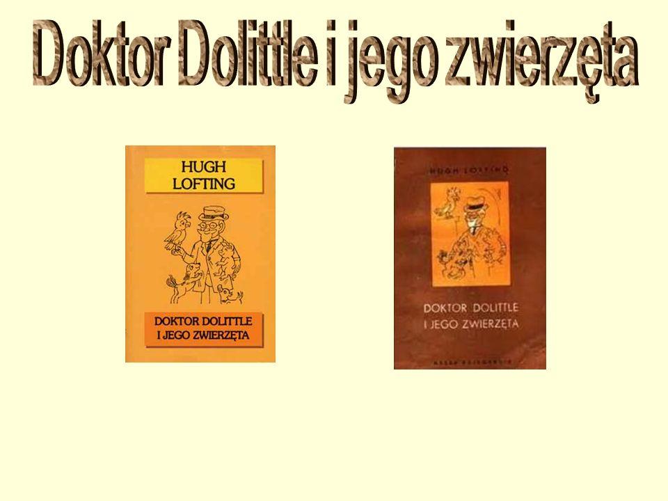 """W bibliotece szkolnej jest kilka książek opowiadających o przygodach doktora Dolittle: """"Cyrk doktora Dolittle , """"Ogród zoologiczny i jego zwierzęta , """"Podróże doktora Dolittle , """"Doktor Dolittle i Tajemnicze Jezioro , """"Doktor Dolittle i zielona kangurzyca ."""