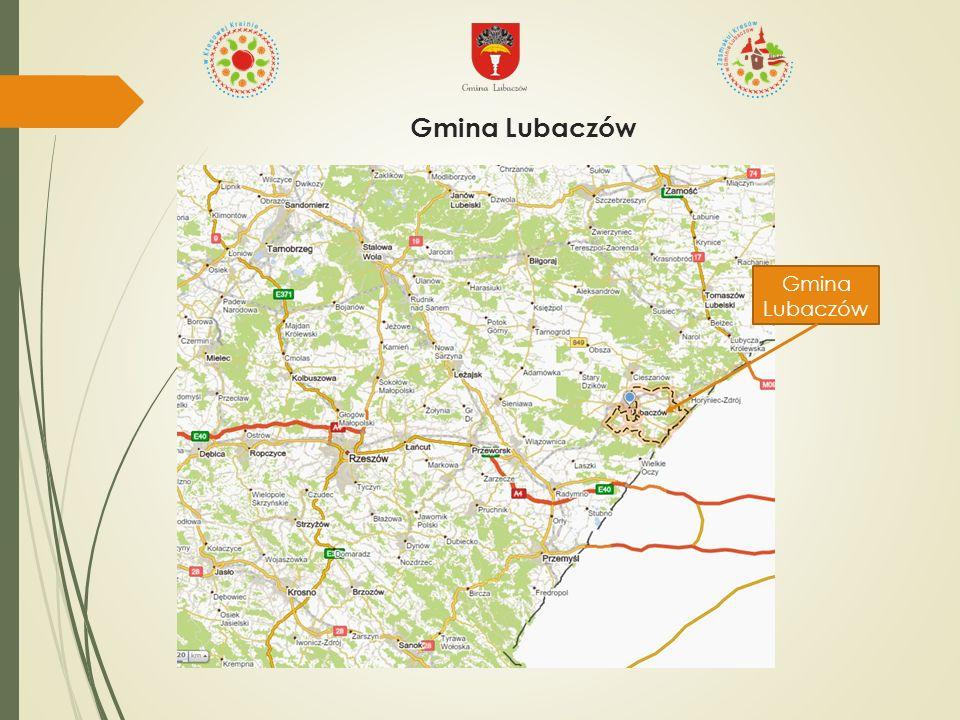 Przykłady miejscowości z gminy Lubaczów, w których realizowany jest podobny model wielofunkcyjnego rozwoju