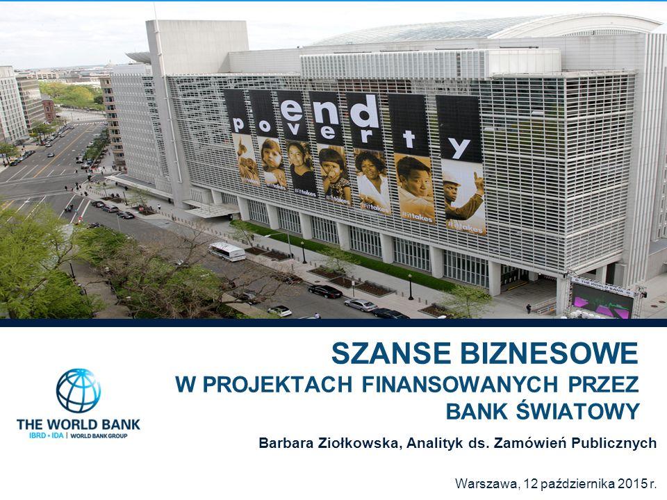 Kto może uczestniczyć w przetargach finansowanych przez Bank Światowy.