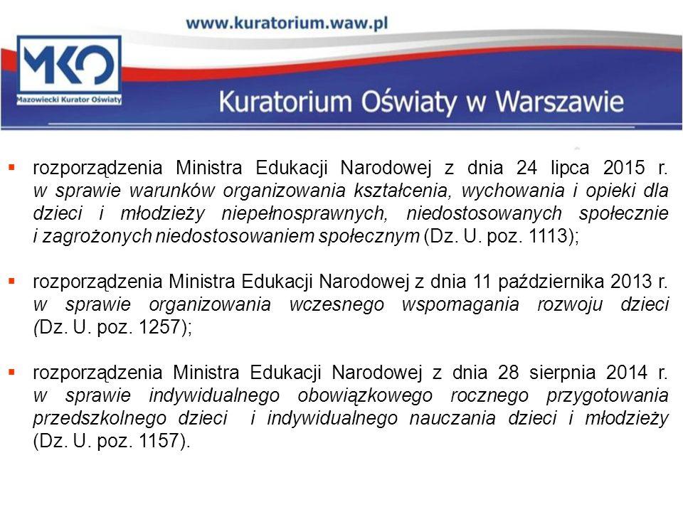  rozporządzenia Ministra Edukacji Narodowej z dnia 24 lipca 2015 r.