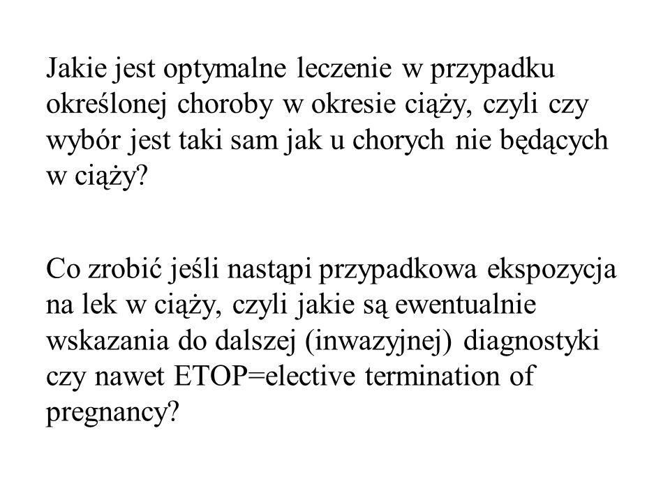 Większe gdy: wysokie dawki leku, duże jego stężenie szczytowe, politerapia Najbardziej prawdopodobna teoria wieloczynnikowa Związane prawdopodobnie z działaniem epoksydów (PHT, CBZ) VPA i CBZ są antagonistami kw foliowego; CBZ, PHT, PB upośledzają jego wchłanianie Ryzyko teratogenności