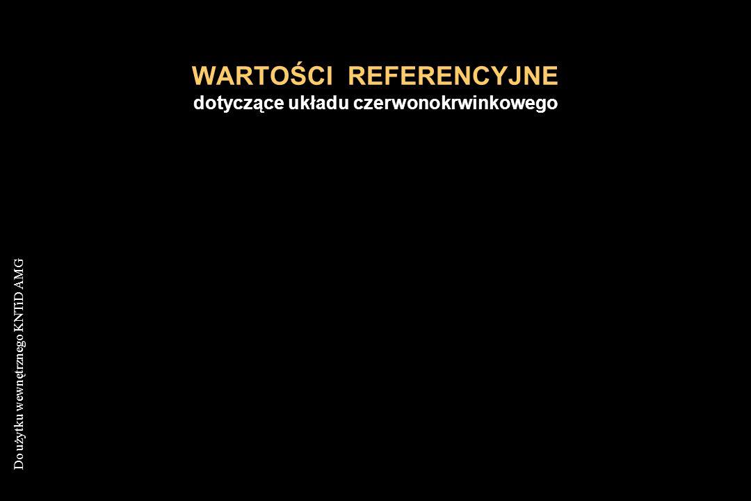 """Do użytku wewnętrznego KNTiD AMG NIEDOKRWISTOŚCI Z NIEDOBORU ŻELAZA Obraz szpiku kostnego Rozgnieciona grudka szpikowa w barwieniu na wolne żelazo nie wykazuje obecności tego pierwiastka K.Lewandowski, A.Hellmann """"Cytologiczny Atlas Hematologiczny Via Medica 1999"""