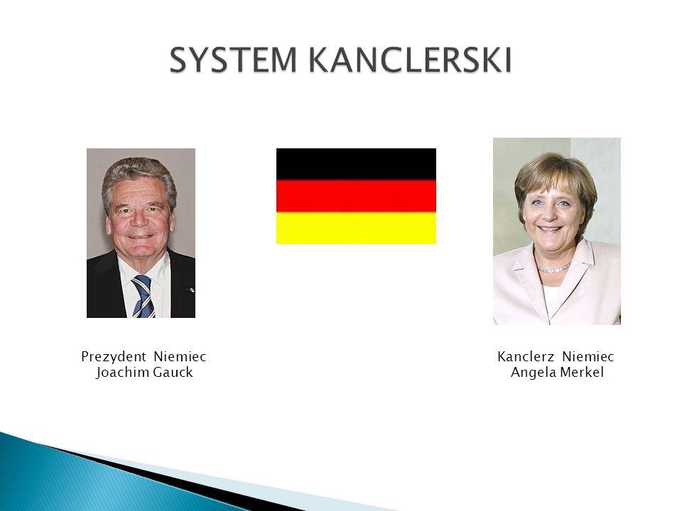 Prezydent Niemiec Joachim Gauck Kanclerz Niemiec Angela Merkel