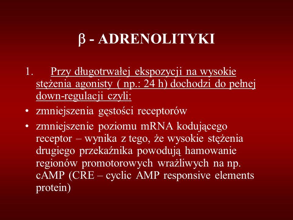  - ADRENOLITYKI 1.