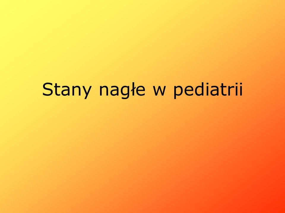 Stany nagłe w pediatrii