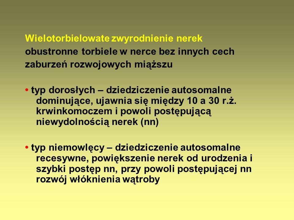Leki stosowane w profilaktyce przeciwbakteryjnej LekDawka (mg/kg/przed snem) Nitrofurantoina (Siraliden, Furagin) 1-2 ( > 1 m.ż.) Trimetoprim (Urotrim, Trimesan) 1-2 ( > 3 m.ż.)