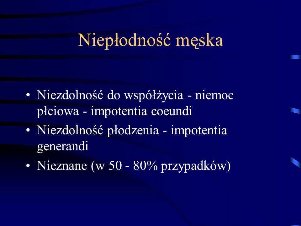 Wieloczynnikowe poza ginekologiczne czynniki Choroby gruczołu tarczowego zaburzenia czynności kory nadnerczy choroby trzustki (cukrzyca) niedostateczn