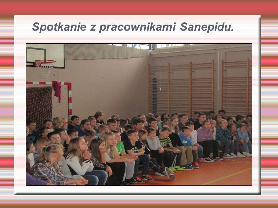 Spotkanie z pracownikami Sanepidu.