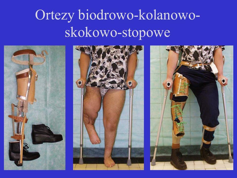 Ortezy biodrowo-kolanowo- skokowo-stopowe
