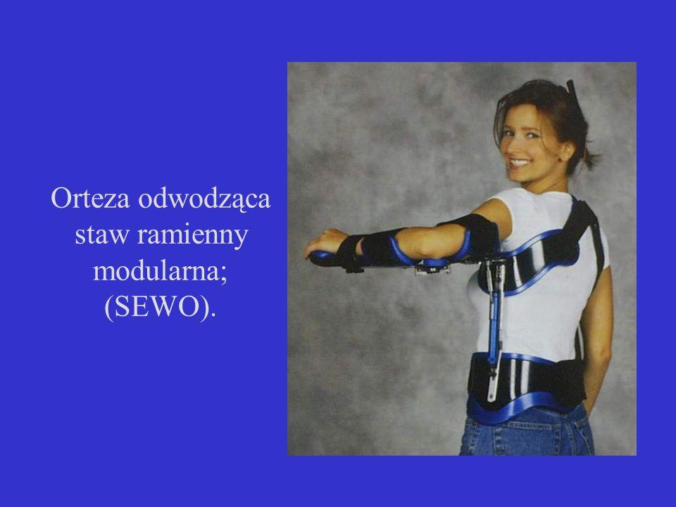 Orteza odwodząca staw ramienny modularna; (SEWO).