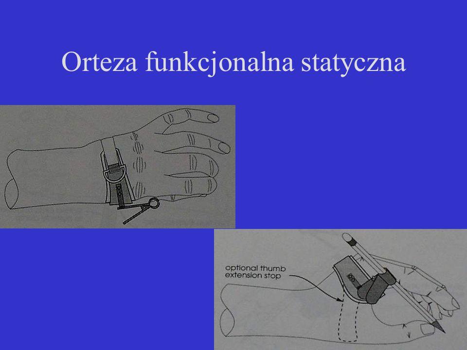 Orteza funkcjonalna statyczna