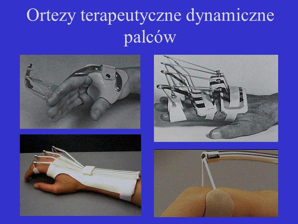 Ortezy terapeutyczne dynamiczne palców