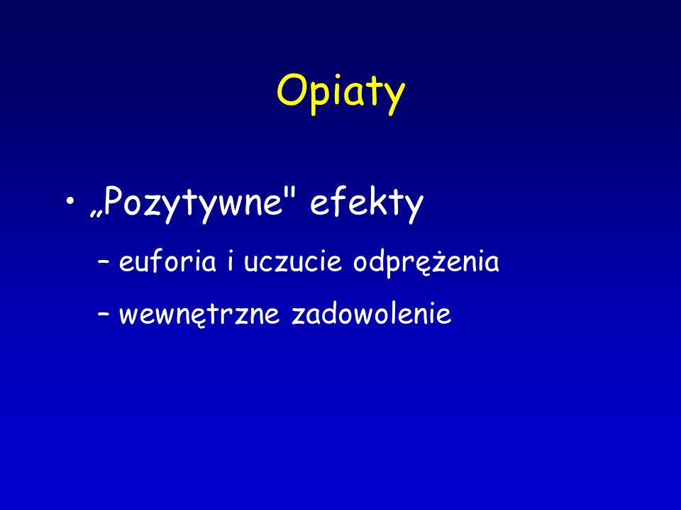 """Opiaty """"Pozytywne"""