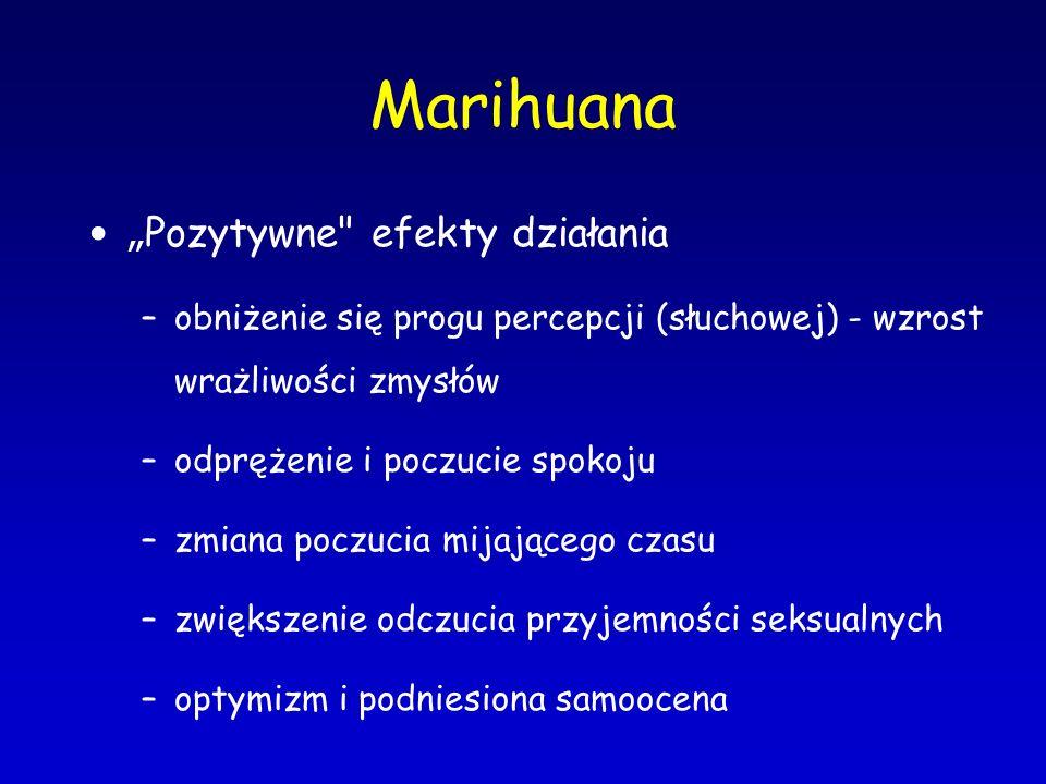 """Marihuana """" Pozytywne"""