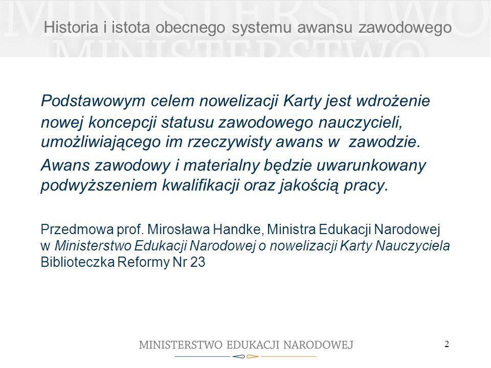 3 Awans zawodowy został określony w: ustawie z dnia 18 lutego 2000 r.
