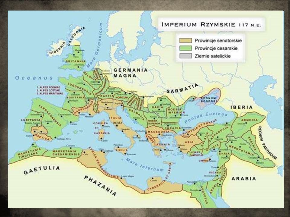 Chrześcijaństwo za panowania Konstantyna Za panowania Konstantyna nastąpiło przesunięcie centrum Imperium na wschód.