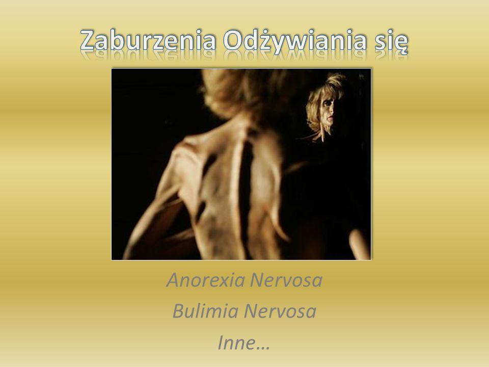 22 Jakie zachowania wskazują na anoreksję.