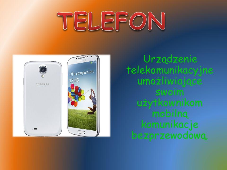 Urządzenie telekomunikacyjne umożliwiające swoim użytkownikom mobilną komunikacje bezprzewodową.