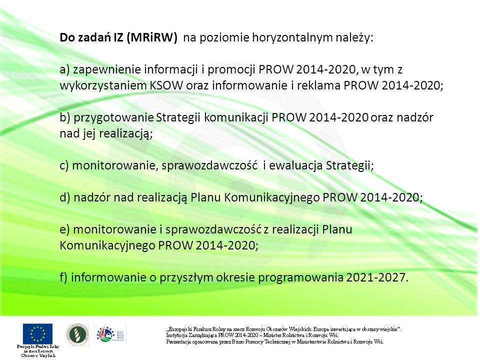 IZ współpracuje na bieżąco z MIiR, w zakresie m.in.