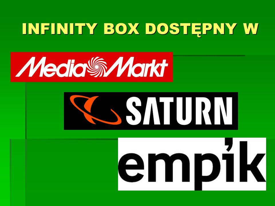 INFINITY BOX DOSTĘPNY W