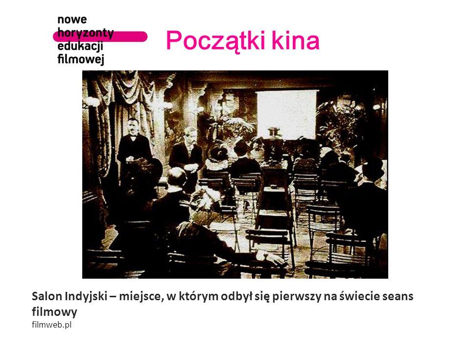 Początki kina Salon Indyjski – miejsce, w którym odbył się pierwszy na świecie seans filmowy filmweb.pl