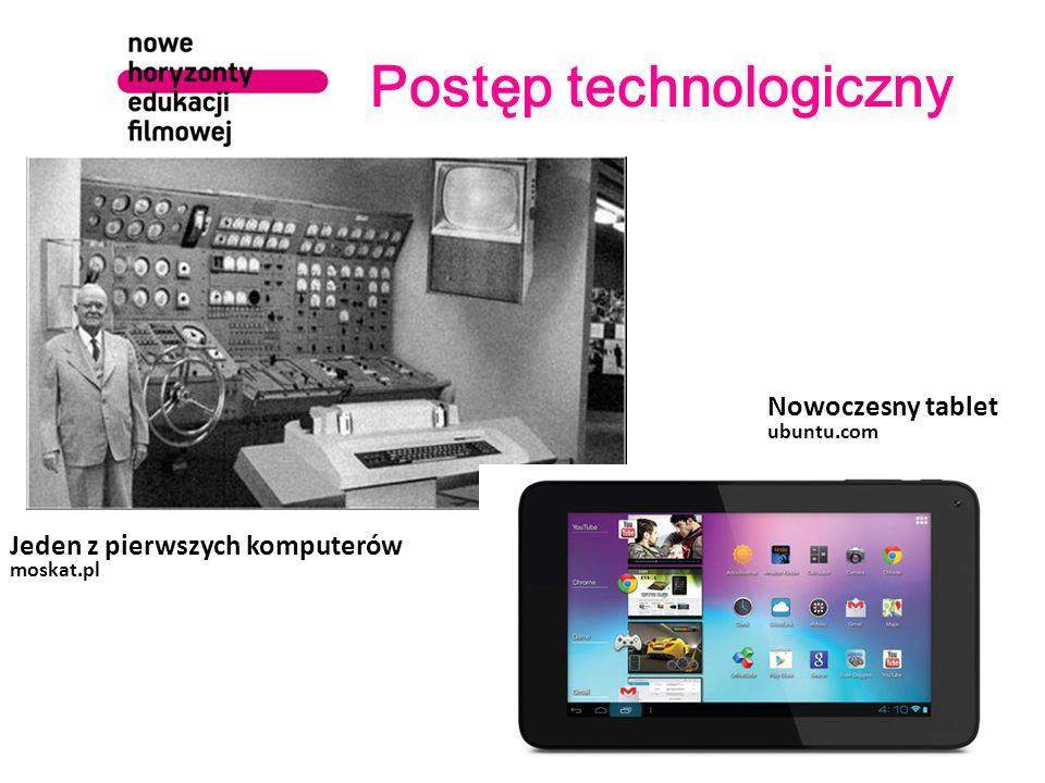 Postęp technologiczny wrzuta.pl Jeden z pierwszych telefonów komórkowych Nowoczesny smartfon cinema.de