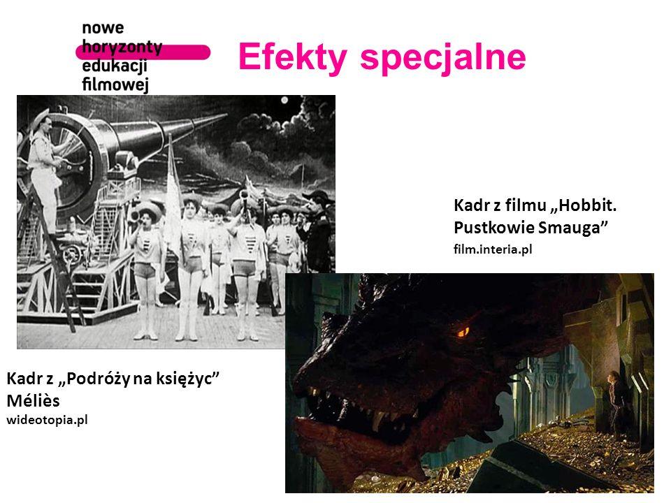 """Efekty specjalne wideotopia.pl Kadr z """"Podróży na księżyc G."""