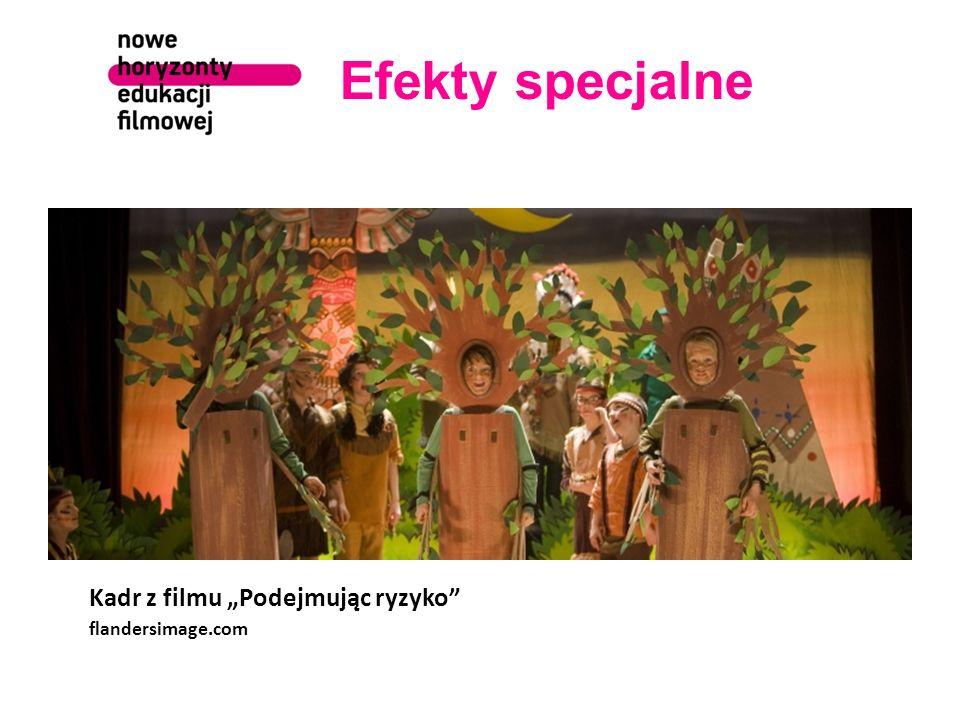 """Efekty specjalne flandersimage.com Kadr z filmu """"Podejmując ryzyko"""
